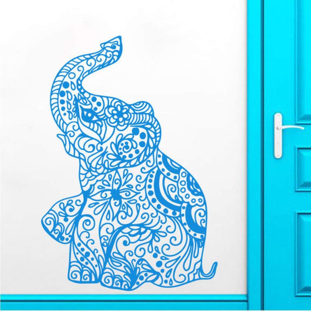 Cchpfcc Etiqueta De La Pared Elefante Indio Yoga Extraíble Ganesha ...
