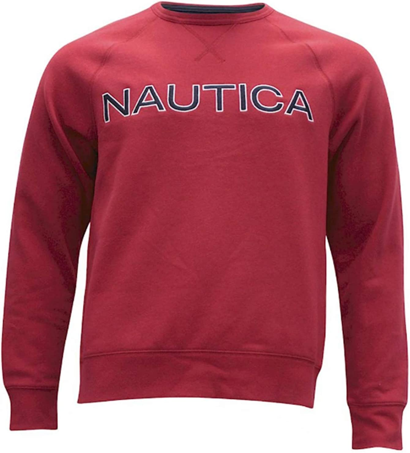 Nautica Men's Fleece Long Sleeve Crew Neck Sweatshirt