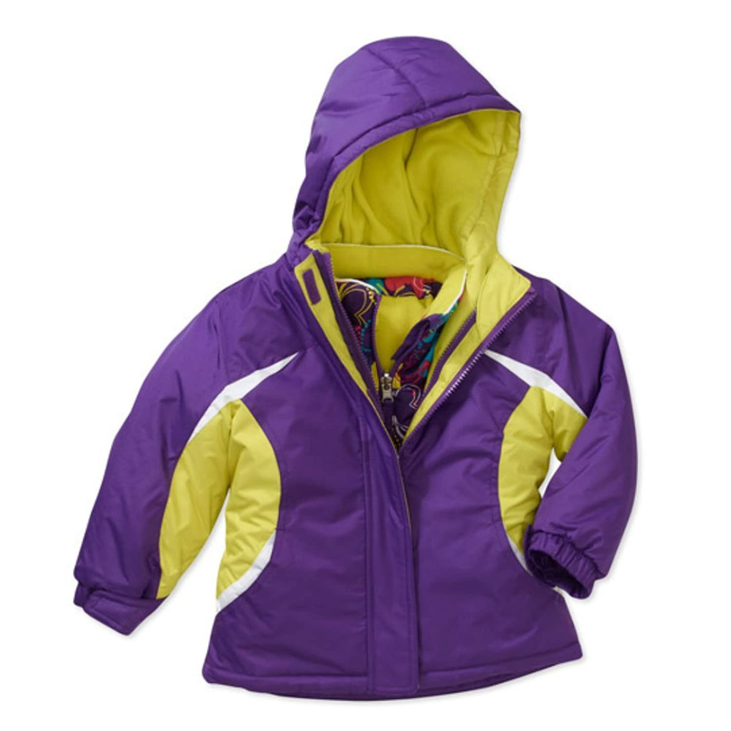 Amazon.com: Healthtex Infant Toddler Girl Purple 3 in 1 Winter ...