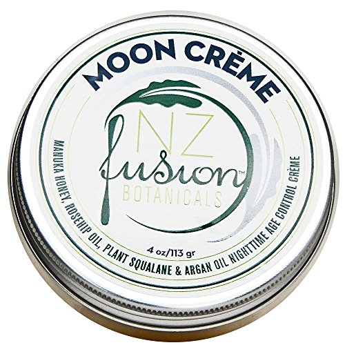 NZ Fusion Botanicals Manuka Honey, Rosehip Oil and Plant Squalane Botanical Moon Cream (Best Coconut Oil Nz)