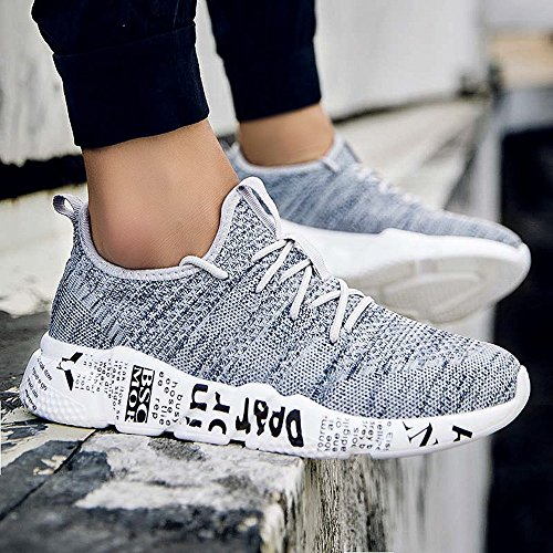Respirants Chaussures Anti dérapage Fitness Gym Course Sport Solike De Basket Sneakers Lacets Outdoor Compétition Homme Femme Mode Running Gris qHyFyaAwp
