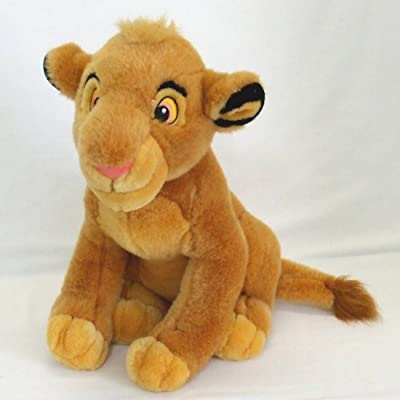 "Disney Lion King 13"" Young Simba Plush: Toys & Games"