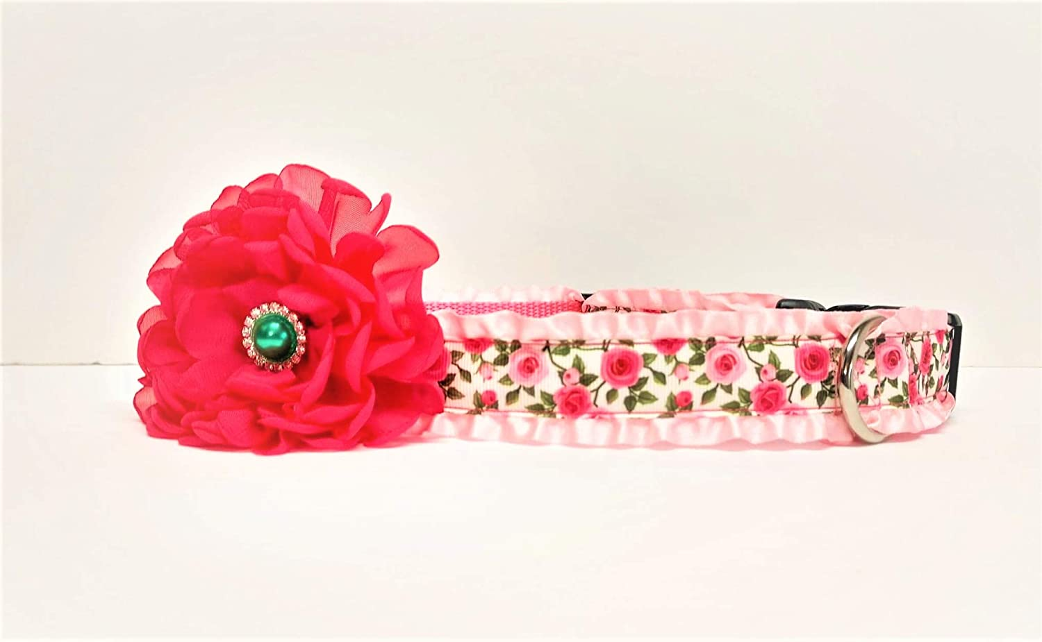 Rose Dog Collar