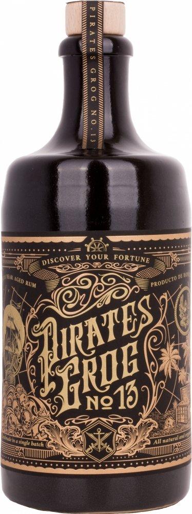 Pirates Grog No.13 Edición Limitada Ron - 700 ml: Amazon.es: Alimentación y bebidas