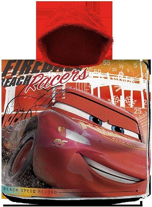 Cars Poncho Playa Algodon 120x60cm Toalla Tiempo Libre y Sportwear ...