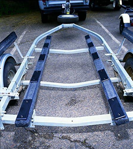 BunkEnders Ironwood Pacific EZ Slide Trailer Pad Kit 3 BLACK 8 Boat Pads//Slides