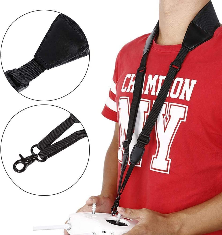 Universal Black Adjustable Lanyard Strap Shoulder Sling Belt for DJI Phantom 3 Phantom 4 Phantom 2.Inspire 1 Remote Control Transmitter