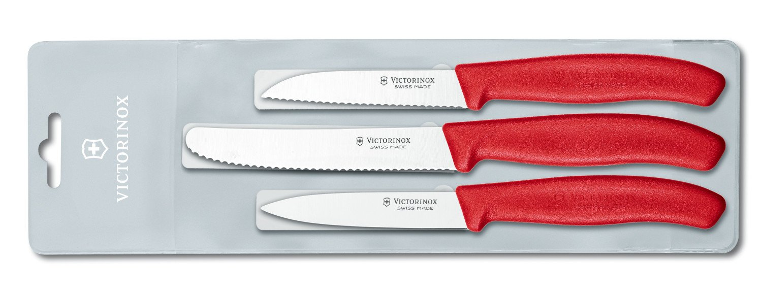 Buy Victorinox Swiss Classic Paring Knife Set, 1.2cm, Set of 3 ...