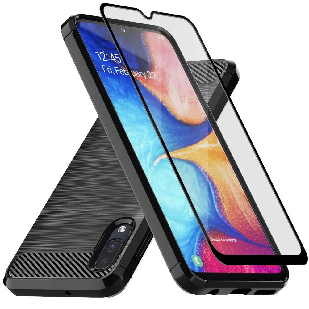 Amazon.com: Funda para Samsung Galaxy A10E, con protector de ...