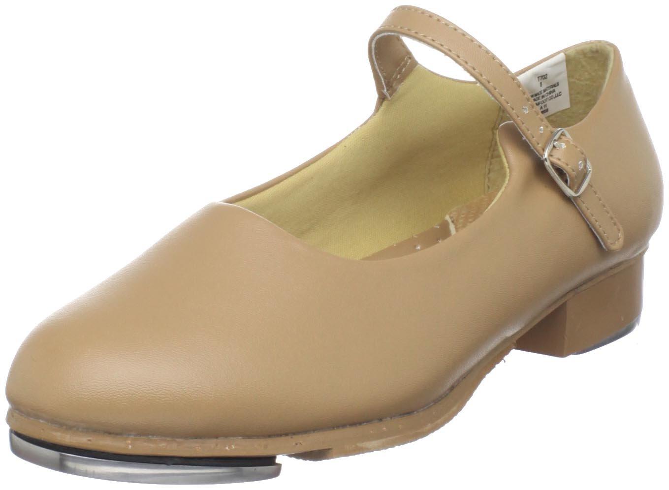 Dance Class Women's T702 Mary Jane Tap Shoe,Caramel,7.5 M US