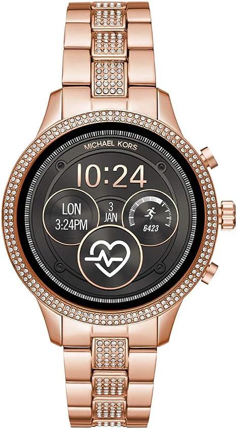 Amazon.com: Michael Kors Access Runway Reloj inteligente de ...