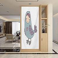 Self Adhesive Glass Sticker Sunscreen Waterproof, Kids Russian Folklore and Mythology...