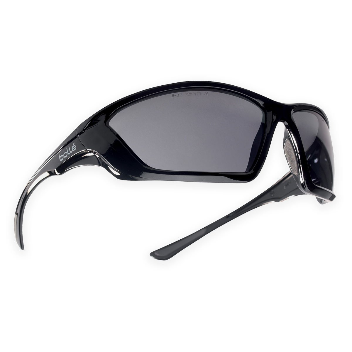 b47c85459bf Amazon.com  Bolle Tactical SWAT Ballistic Sunglasses - Smoke Lens Black  Frame  Home Improvement