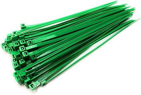 Nylon Kunststoff Kabelbinder Lange Und Breite Extra Große Kabelbinder Schwarz Weiß Wickel 50 Stück Schwarz 4 8 Mm X 450 Mm Grün 4 8 Mm X 300 Mm Baumarkt