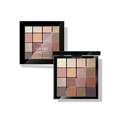 16 Color Eyeshadow Eyebrow Combination Palette,YOYORI Waterproof and Long-Lasting Makeup Lip Gloss Long Lasting Eye Shadow Set for Professional Makeup or Daily Use (Multicolor)