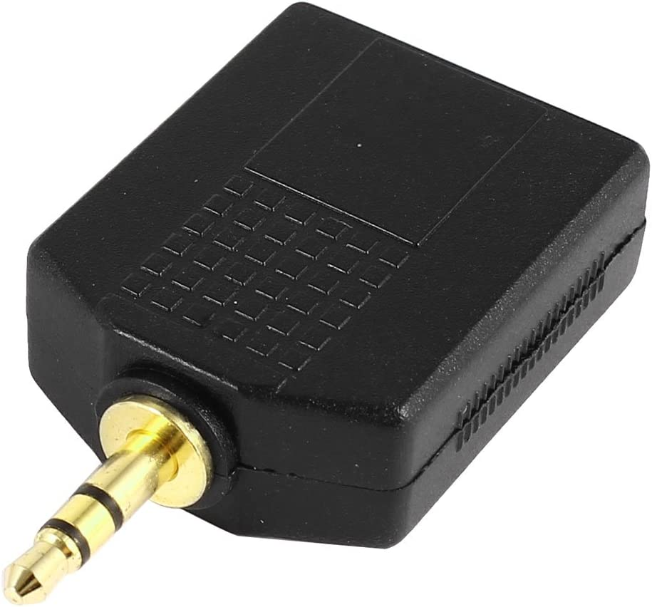 sourcingmap M/âle 3,5 mm vers 6,5 mm Femelle st/ér/éo C/âble Adaptateur r/épartiteur Audio
