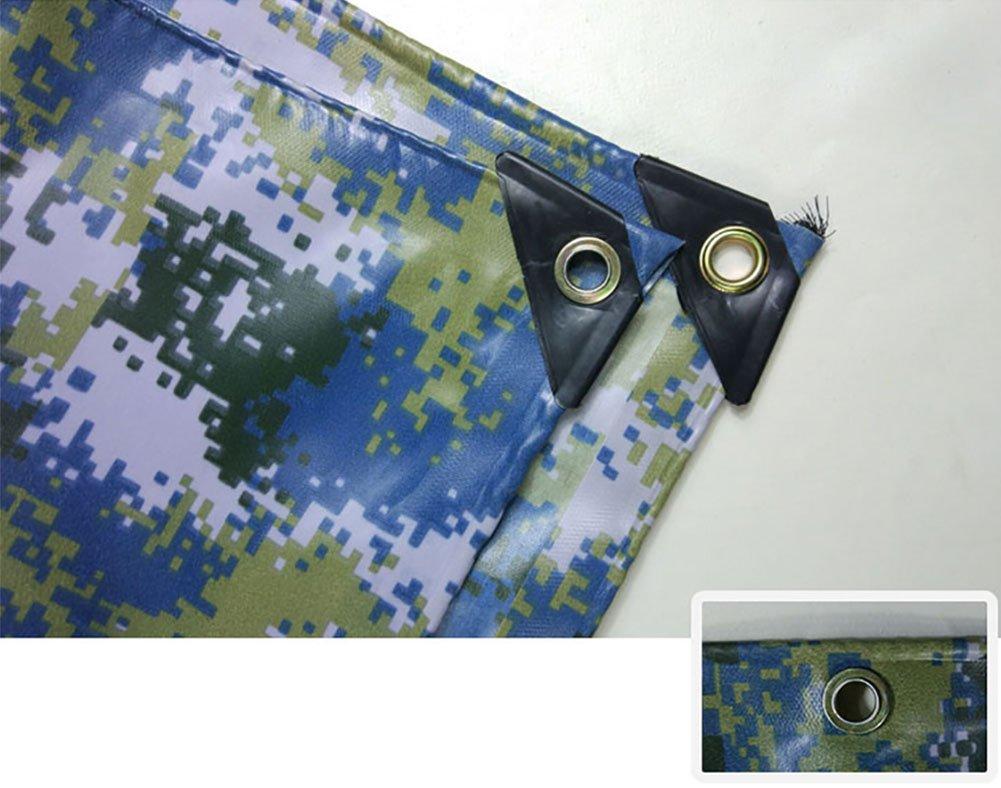Im Freien Camouflage Plane, wasserdicht Poncho Camping Camping Poncho Matte Zelt Tuch Waren Sonnenschutzisolierung Abriebfest Krepp (Farbe : A, größe : 6  10m) 6cf66f