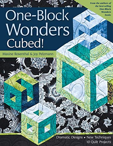 Abstract Quilt Fabric - One-Block Wonders Cubed!: Dramatic Designs, New Techniques, 10 Quilt Projects