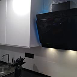 Campana extractora de pared (60cm, acero inoxidable, cristal negro, 605m³/h, iluminación LED RGBW, control WIFI, teclas sensoriales TouchSelect) SOLO607SM - KKT KOLBE: Amazon.es: Hogar