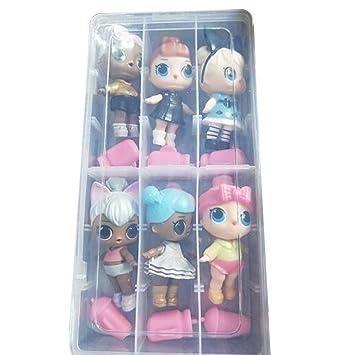 Amazon.com: Callm Mini muñecas, muñecas sorpresas, juguetes ...