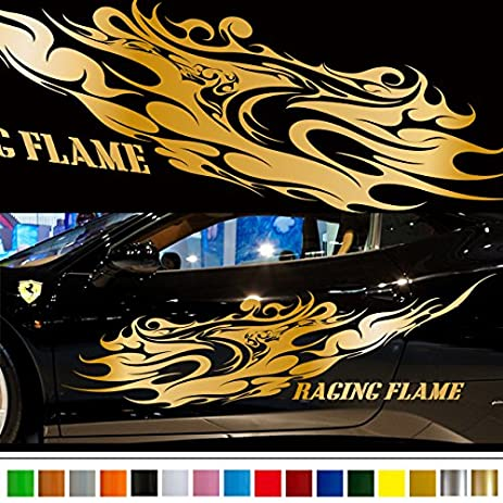 Flamea car sticker car vinyl side graphics 222 car vinylgraphic custom stickers decals