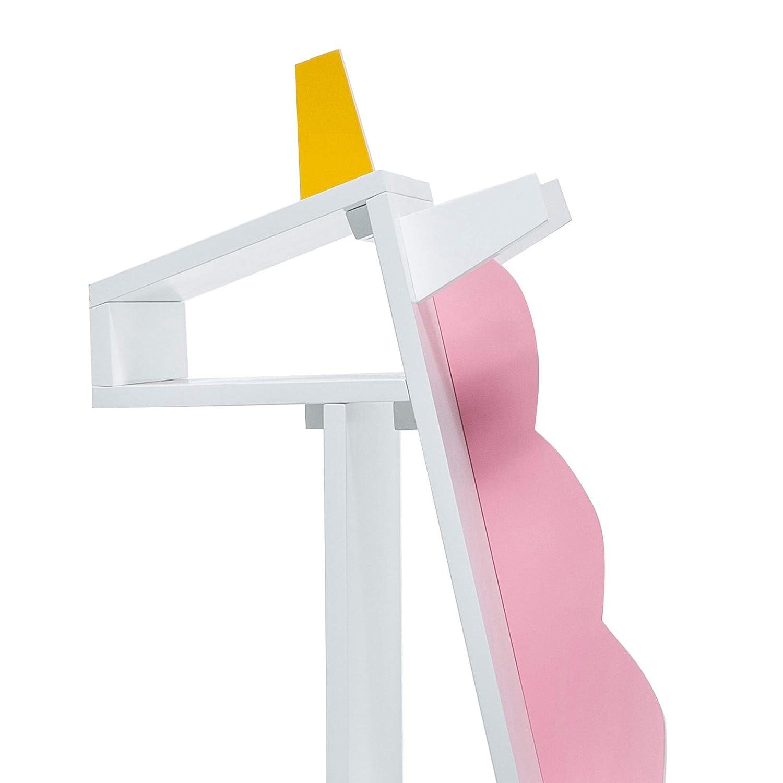 TDF-00002 Colore White//Pink Teamson Kids Unicorn libreria per Bambini