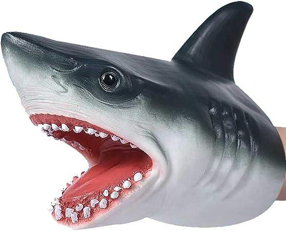 HNOOSTER Hai Handpuppe Spielzeug, Hai Puppen Rollenspiel