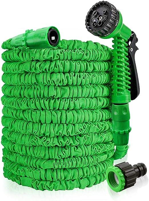 Manguera de jardín manguera Flexi sailun® Flexible, incluye Multi Función Ducha con 7 funciones, dehn Bar Agua Manguera para ropa de Auto lavado Jardín trabajo de riego: Amazon.es: Jardín