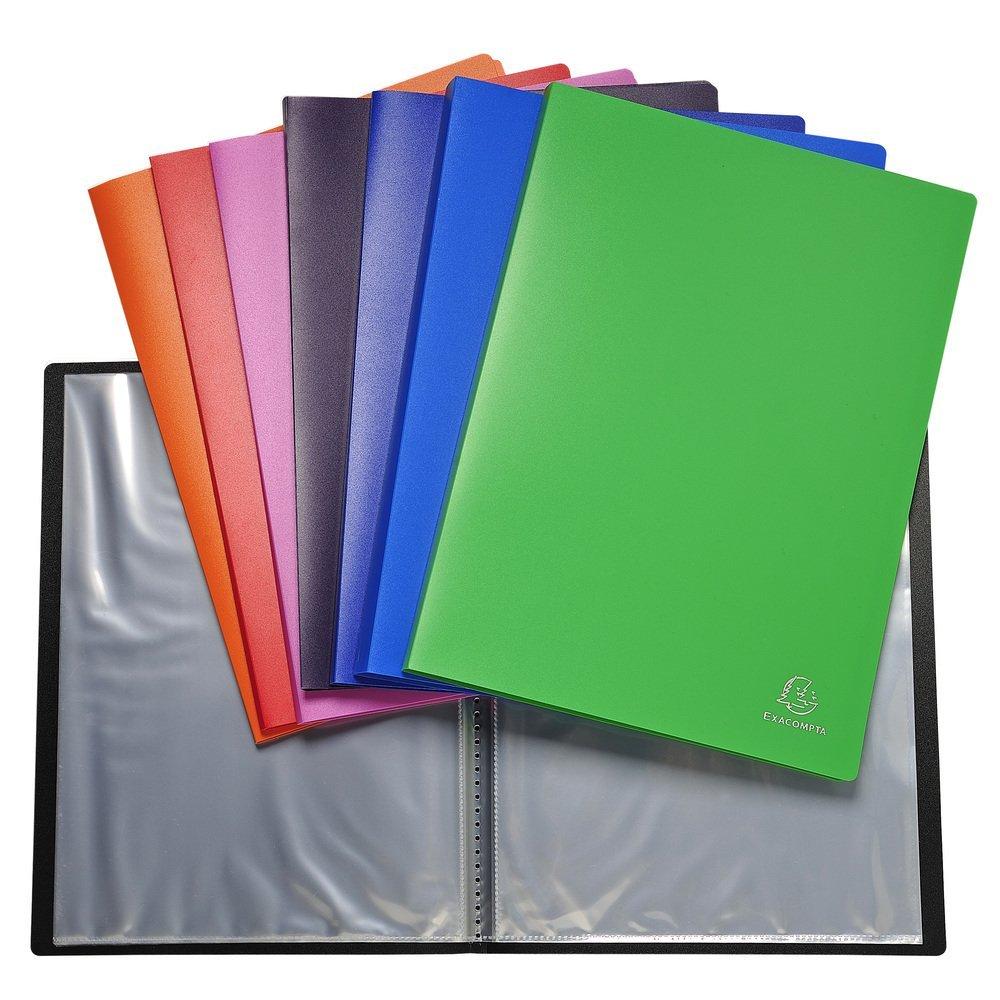 Multicolore 32 x 24 x 0.70 cm Exacompta 8830E Portalistini