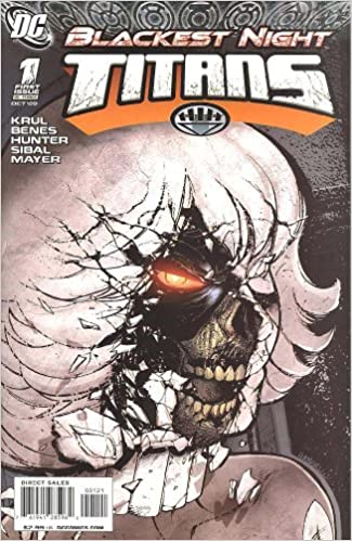 Titans #1 Brian Haberlin Variant Blackest Night