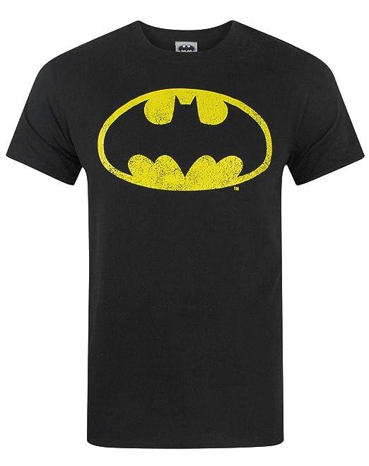 6453a567f DC Comics Batman Hombres Camiseta  Amazon.es  Ropa y accesorios