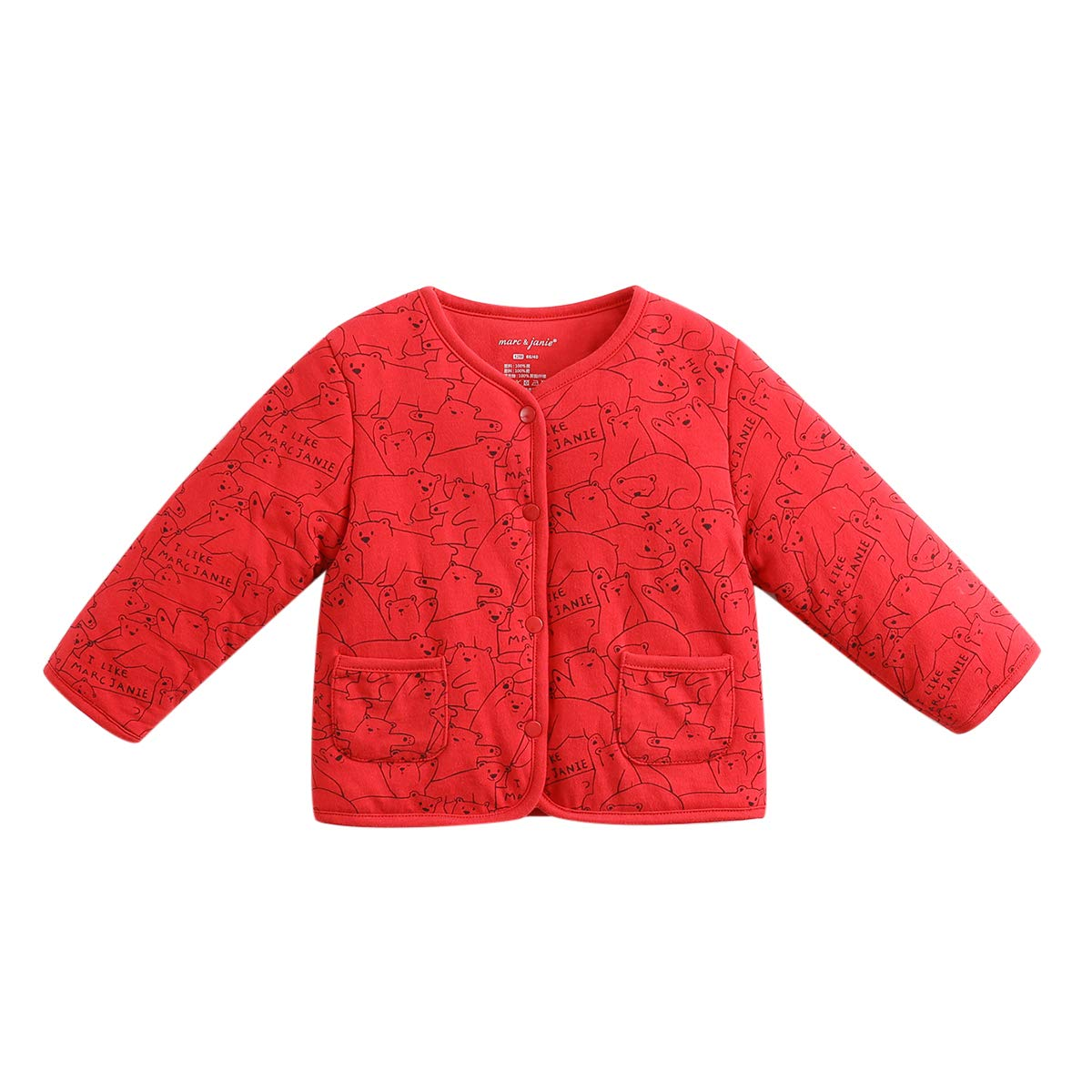 marc janie Baby Boys Girls Winter Warm Cotton Jacket