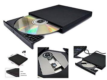 Amazon.com: USB 2.0 External Slim CD-ROM Drive para Acer ...