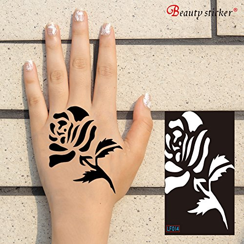 Tattoo Stencils. New amazing neat risk free self-applicable and effortless tattoos for hands and body. Use it with henna or color spray. Returnable upon dissatisfaction! PROMOTIONAL PRICE! - Store Lf Prices