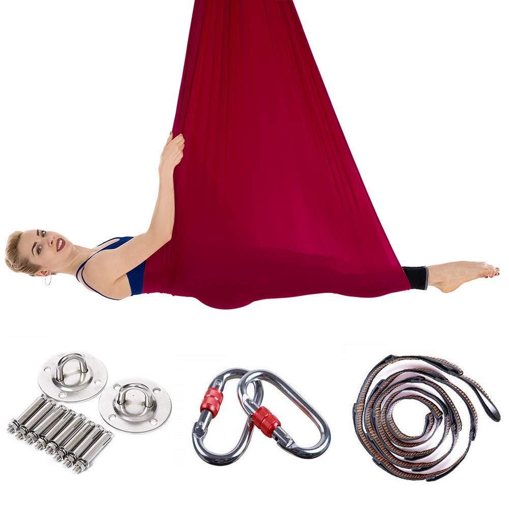 Amazon.com : RXRENXIA Yoga Hammock Set, Yoga Swing ...
