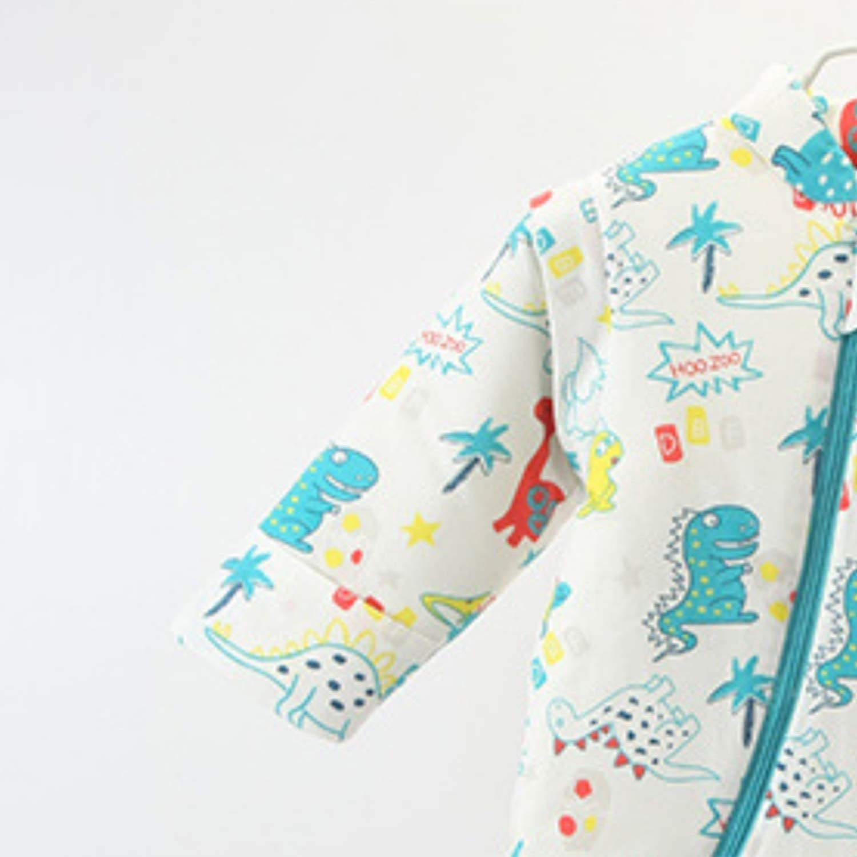 Moligh doll Unisex Baby Sleepsack Wearable Blanket Cotton Sleeping Bag Long Sleeve Nest Nightgowns Thickened Winter Dinosaur//3.5 Tog M