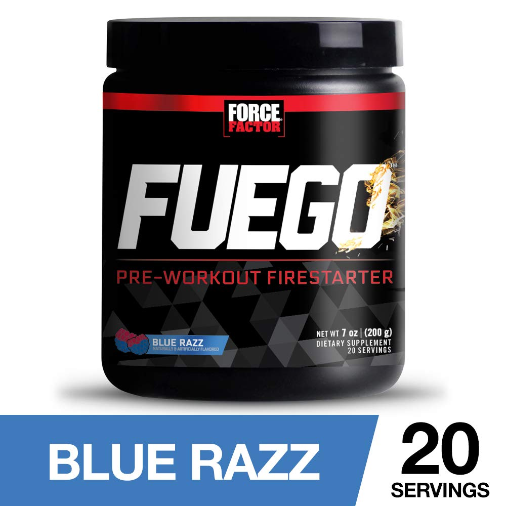Amazon.com: Force Factor Fuego Pre-Workout Firestarter for