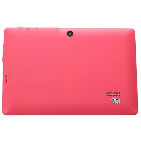 SODIAL Tableta de 7 Pulgadas Android Google 4.2.2 8GB 512MB DDR3 de Cuatro nucleos Camara Pantalla Tactil Capacitiva 1.5GHz WiFi Rosa