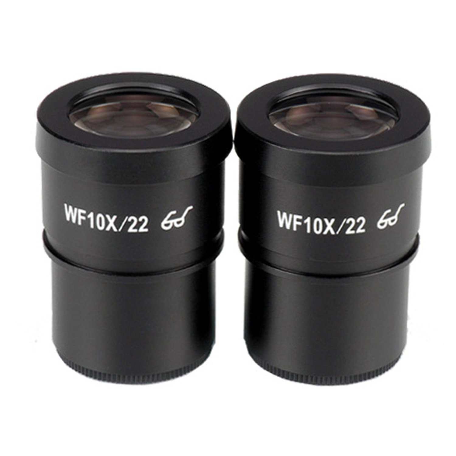 AmScope EP10X30E Pair of Extreme Widefield 10X Eyepieces (30mm) by AmScope