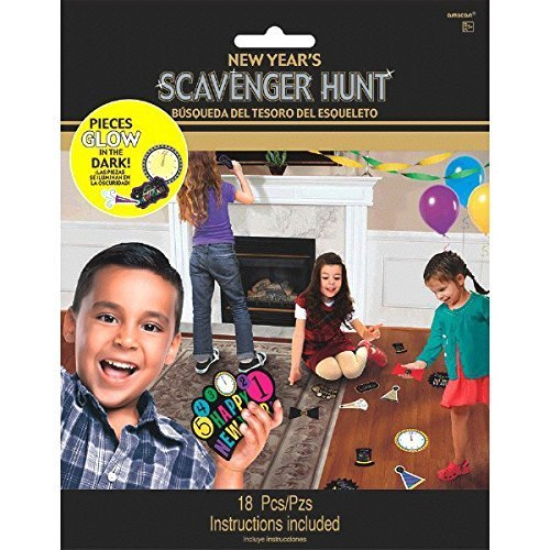 new years eve scavenger hunt games for kids