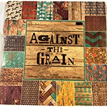 Against the Grain 12x12 Scrapbooking Paper Pad Rustic Wood, Chipped Paint