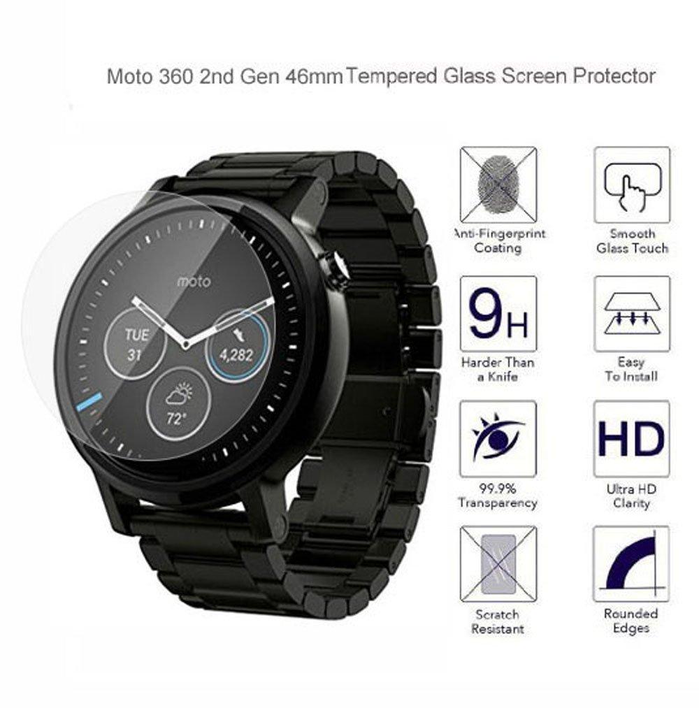 Motorola Moto 360 2nd Gen Smartwatch Protector de pantalla ...