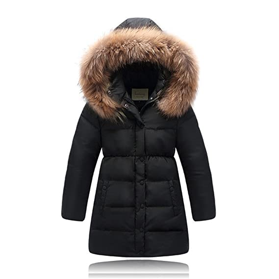 8d6e5eeda XIRUI High Quality Children Down Jacket for Girls Clothes Natural ...
