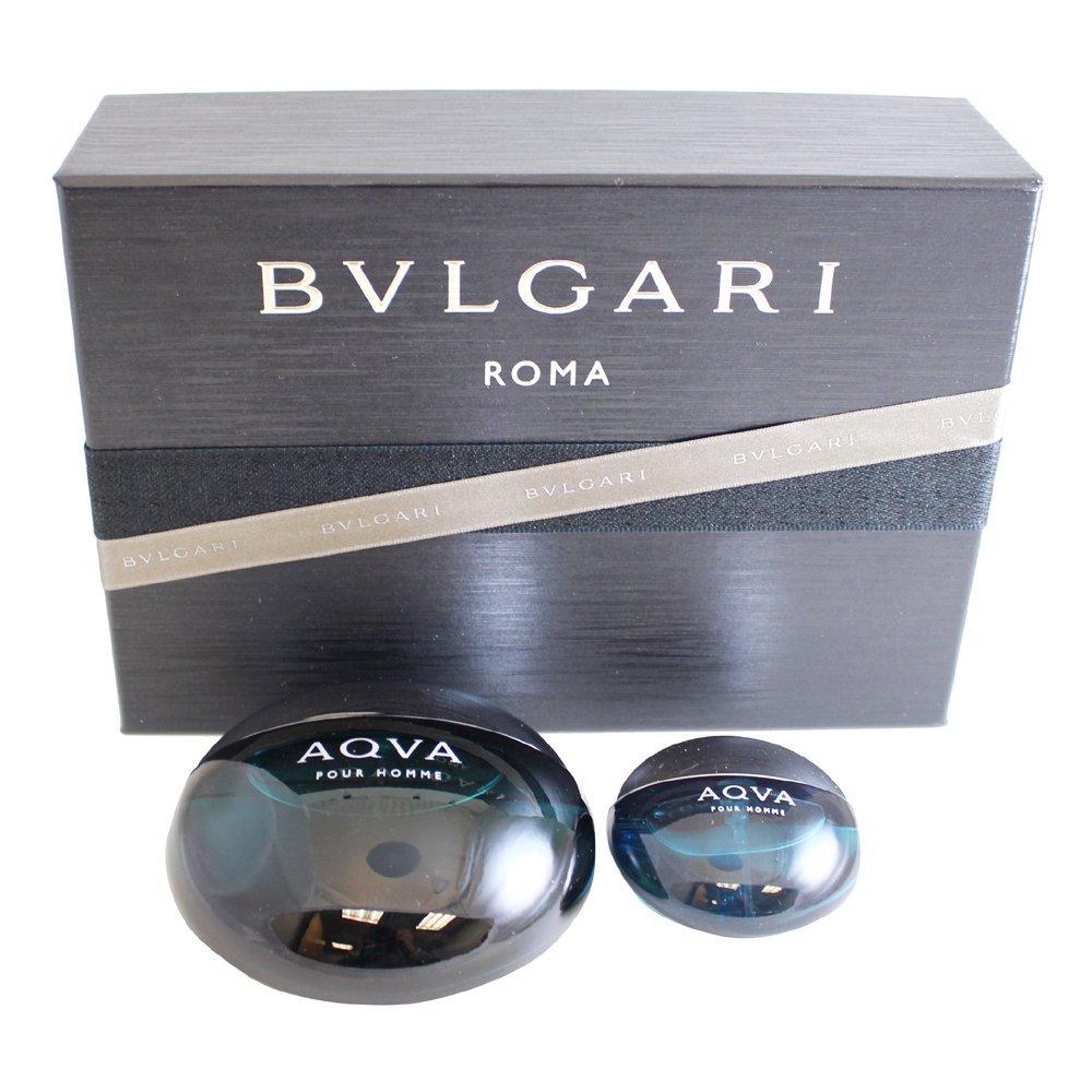 Bvlgari Aqva Pour Homme Set, 3.3 Fluid Ounce