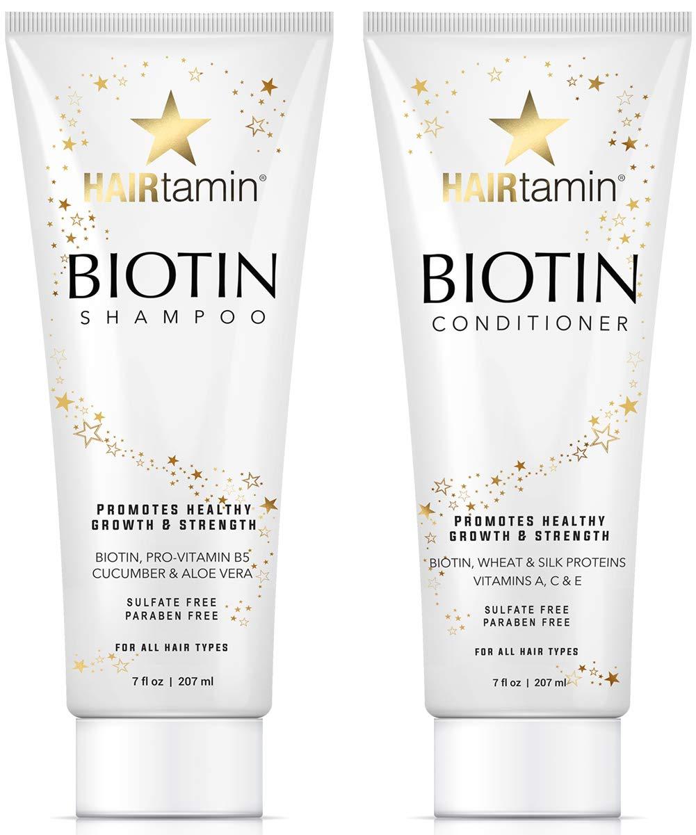 Amazon Com Hairtamin Fast Hair Growth Biotin Vitamins