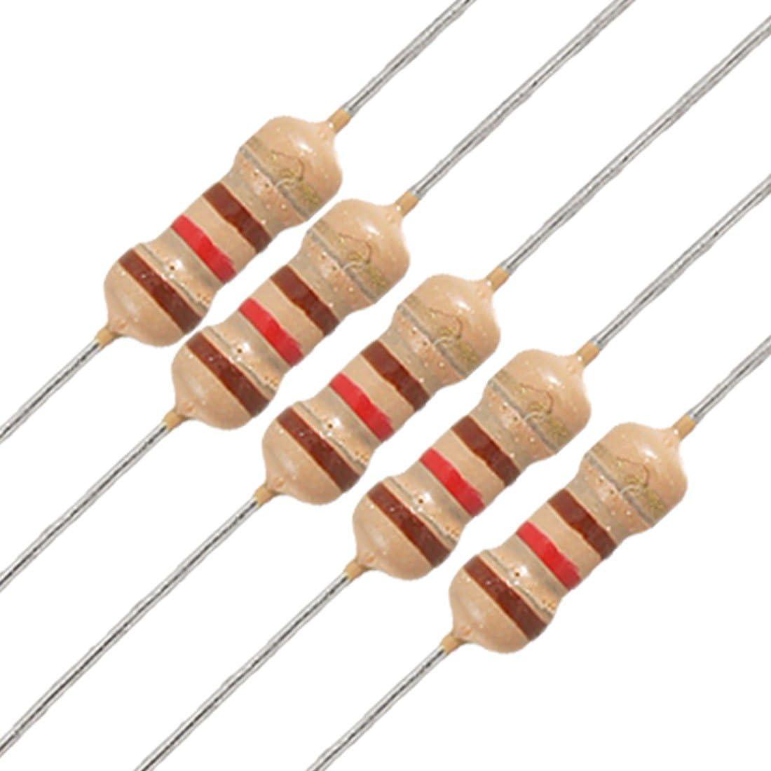 LOT OF 50 5.6 Ohm 2W Carbon Film Resistor