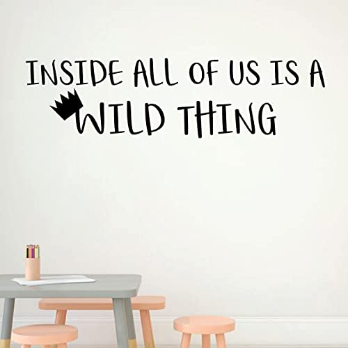 Amazon.com: Where The Wild Things Are Wall Decal - Inside All Of Us ...