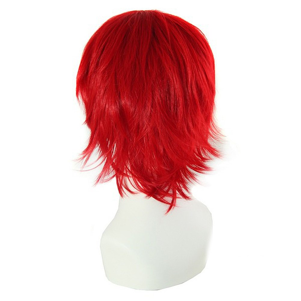 Amazon.com : Mens Short Red Wig Women Hair Wigs Foviza Party Dress Costume Cosplay Wigs : Beauty