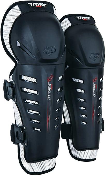 06193 taille unique noir 001 Fox Race Titan//genouill/ères//prot/ège-genoux