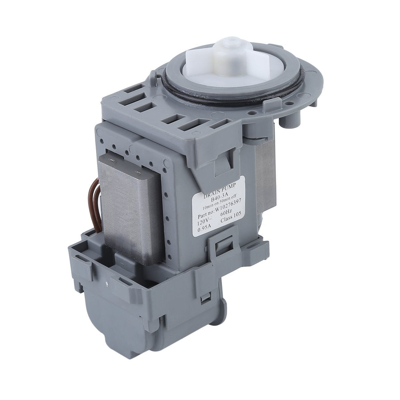 Dooret Professional Washing Machine Water Drain Pump Motor Washer For Whirlpool Replaces Part Number W10130913